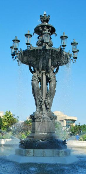 The Fountain of Light and Water in Bartholdi Park